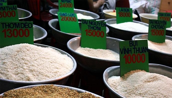 mở đại lý gạo