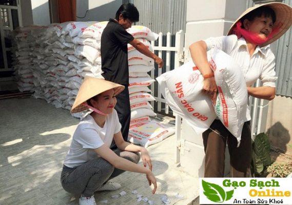Mua gạo từ thiện ở đâu tại TPHCM